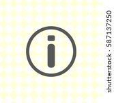 button for website  vector... | Shutterstock .eps vector #587137250