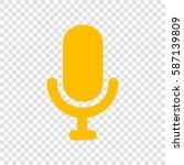 microphone sign illustration....