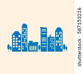 city  | Shutterstock .eps vector #587153216