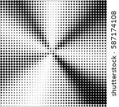 halftone pattern background... | Shutterstock .eps vector #587174108
