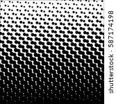 halftone pattern background... | Shutterstock .eps vector #587174198