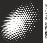 halftone pattern background... | Shutterstock .eps vector #587174210