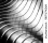 halftone pattern background... | Shutterstock .eps vector #587174264