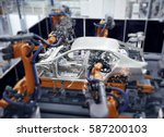 car manufacturer | Shutterstock . vector #587200103