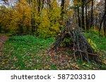 Horizontal Autumn Landscape In...