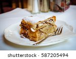 A Viennese Strudel Apple Is A...