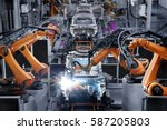 car manufacturer | Shutterstock . vector #587205803