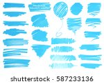 color highlight stripes ... | Shutterstock .eps vector #587233136