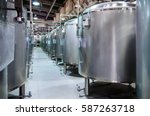 Modern Beer Factory. Small...