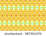 seamless colorful artistic...   Shutterstock . vector #587301470
