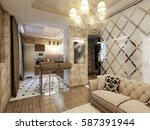 Elegant And Luxurious Modern...
