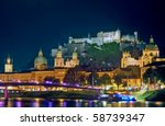 Salzburg With Castle ...