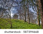 Small photo of Temple of Aeolus in spring, Royal Botanic Gardens, Kew, UNESCO World Heritage Site, London, England, United Kingdom, Europe