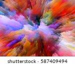 color splash series. interplay... | Shutterstock . vector #587409494
