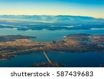 Aerial View Of Seattle  Puget...