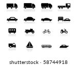 web icons | Shutterstock .eps vector #58744918