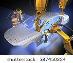 3d rendering  vehicle... | Shutterstock . vector #587450324