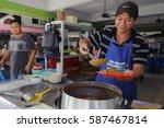 kota kinabalu sabah malaysia  ... | Shutterstock . vector #587467814