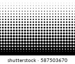 abstract geometric black and... | Shutterstock .eps vector #587503670