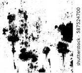 black and white grunge texture | Shutterstock . vector #587524700