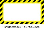 border with line yellow and... | Shutterstock .eps vector #587563226