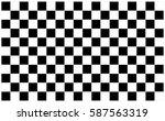 checkered flag. racing flag... | Shutterstock .eps vector #587563319