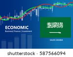 economy saudi arabia financial... | Shutterstock .eps vector #587566094