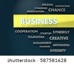 business. conceptual background.... | Shutterstock . vector #587581628