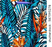 Seamless Tropical Pattern....