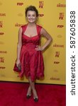 Small photo of New York, NY USA - February 25, 2017: Alison Wright attends FX The Americans Season 5 premiere at DGA Theater in New York