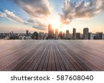 cityscape and skyline of... | Shutterstock . vector #587608040