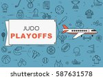 "airplane with banner ""judo... 