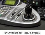 cctv camera control | Shutterstock . vector #587659883