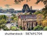 sydney  australia. circa may... | Shutterstock . vector #587691704