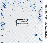 celebration background with... | Shutterstock .eps vector #587700206