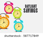 vector illustration of a banner ... | Shutterstock .eps vector #587717849