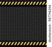 metallic panel background icon... | Shutterstock .eps vector #587746346