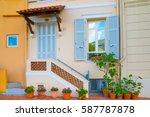 monaco  monte carlo   september ...   Shutterstock . vector #587787878