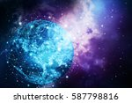global network internet concept....   Shutterstock . vector #587798816