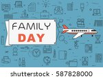 "airplane with banner ""family... 