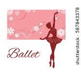 Silhouette Of The Ballerina...