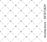Luxury Seamless Pattern With...