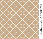 seamless geometric line pattern.... | Shutterstock .eps vector #587900750