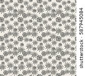 vector seamless pattern....   Shutterstock .eps vector #587945084