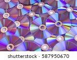 Background Dvd Purple Bulk...