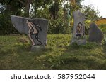 Small photo of Garden ornamentation. Pinar Del Rio, Cuba 2015
