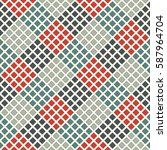 seamless pattern with geometric ...   Shutterstock .eps vector #587964704