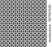 repeated black figures on white ...   Shutterstock .eps vector #587967620