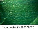 abstract green bokeh | Shutterstock . vector #587968328
