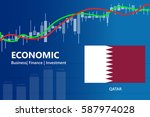economy qatar financial growth... | Shutterstock .eps vector #587974028